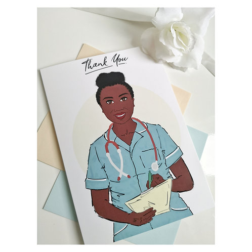 Thank You Card | Healthcare (Woman)