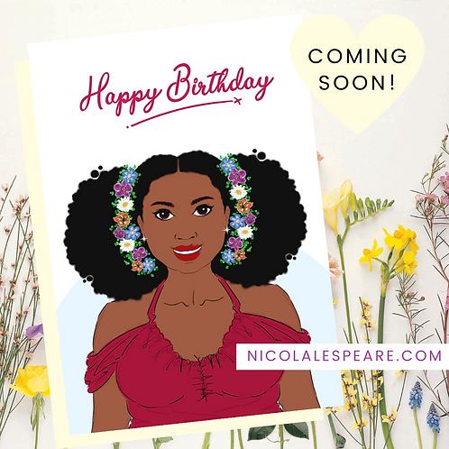 Rochelle Birthday Card