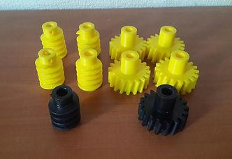 3D печать шестерёнок и валов из пластика Тюмень