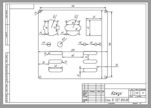 3д печать, 3d печать, чертежи на заказ, рисование чертежей