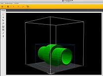 3D модель макет производственный