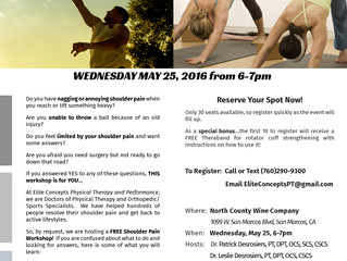 FREE Workshop Reveals How To Alleviate Shoulder Pain and Get Back to Sports, Exercise, and Lifting W