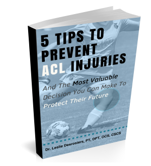 5 Tips to Prevent ACL Injuries book cove