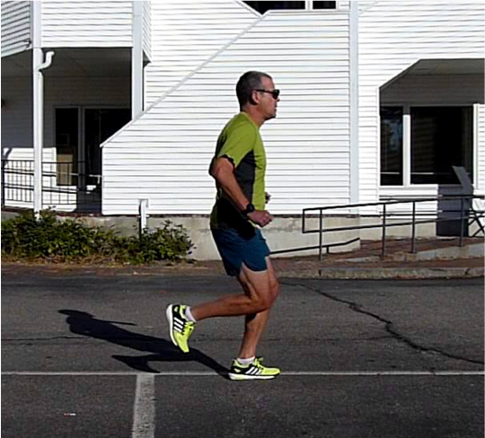 Runner with poor hip extension ROM