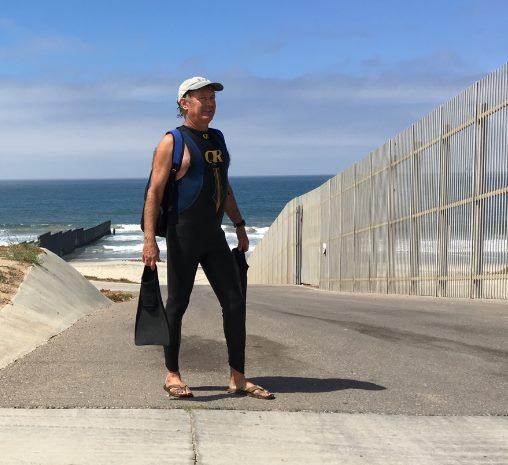 Patient swimming SD Coast