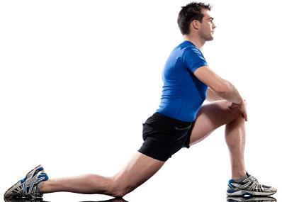 Half-kneeling hip flexor stretch