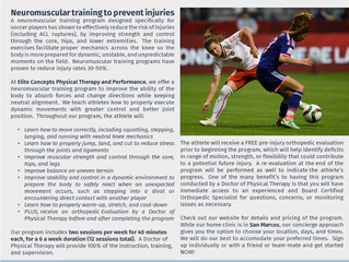 Don't Risk Your Soccer Career...Reduce Your Risk of Injuries.  It's Worth It.
