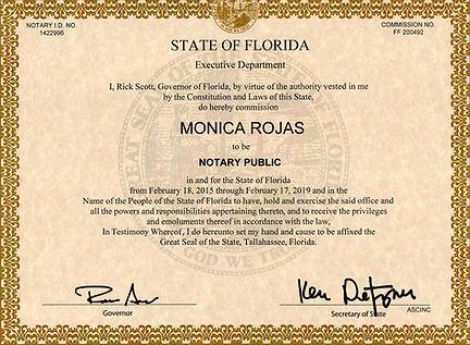 Monica Rojas_Notary Public_2015-2019_edi