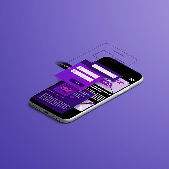 Mobile App Design + Lifetime Mobile App and PWA Hosting