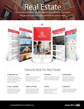 Solardirt CRM Real Estate Features