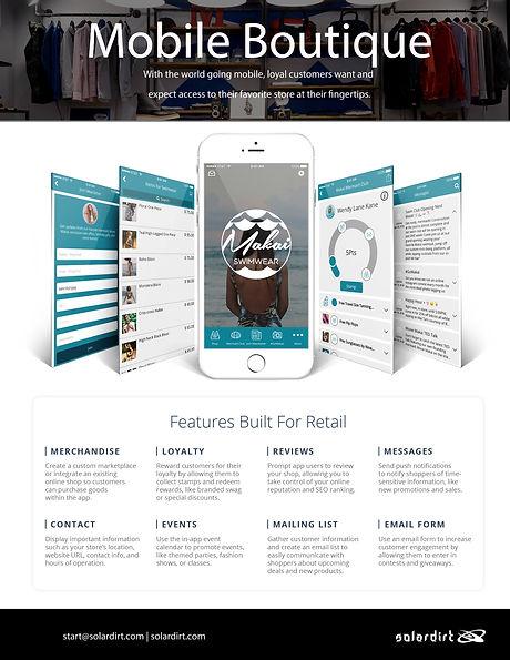 Solardirt CRM Retail Features