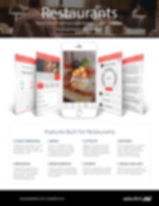 Solardirt CRM Restaurant Features