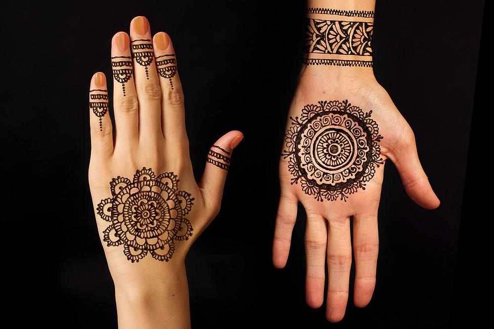 ציורי חינה בהודו