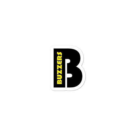Buzzers 'B' stickers