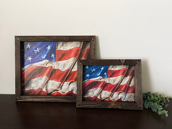 Framed Flag of Freedom