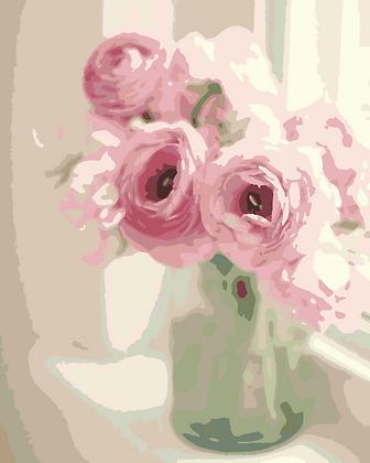 Pink Peony Vase 02