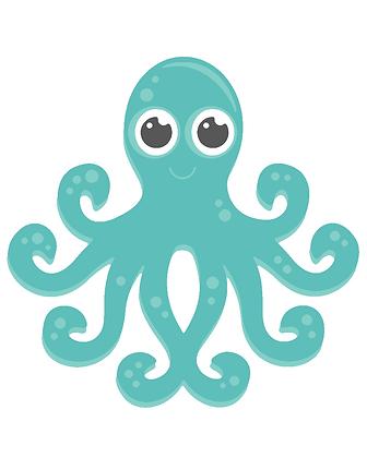 Kids Octopus 01