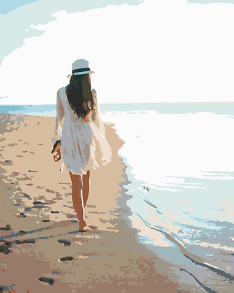Beach Lady 03