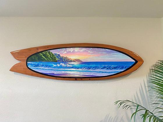Napali Coast Handcrafted 6' Surfboard