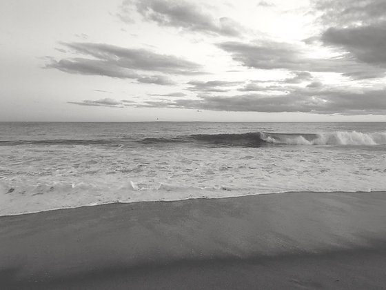 Matunuck Beach Black & White 002