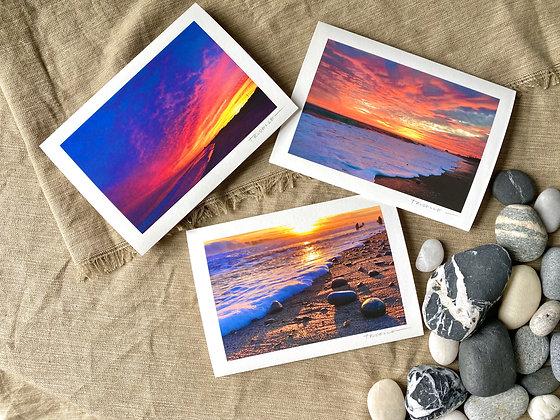 Sunset at the Beach Set 01