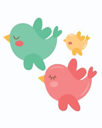 Kids Birds 04