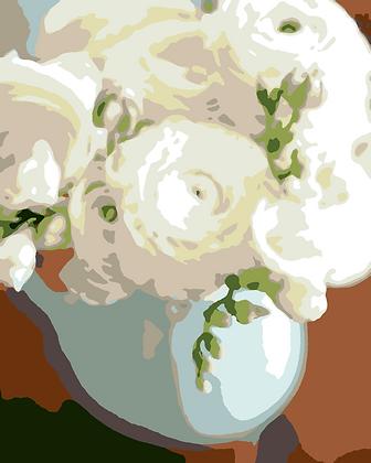 White Peonies 01