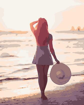 Beach Lady 01