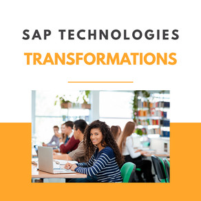 How is the SAP business technology platform transforming the opportunities?