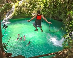 Cebu Canyoneering _ DumaGetMe Tropic Tou