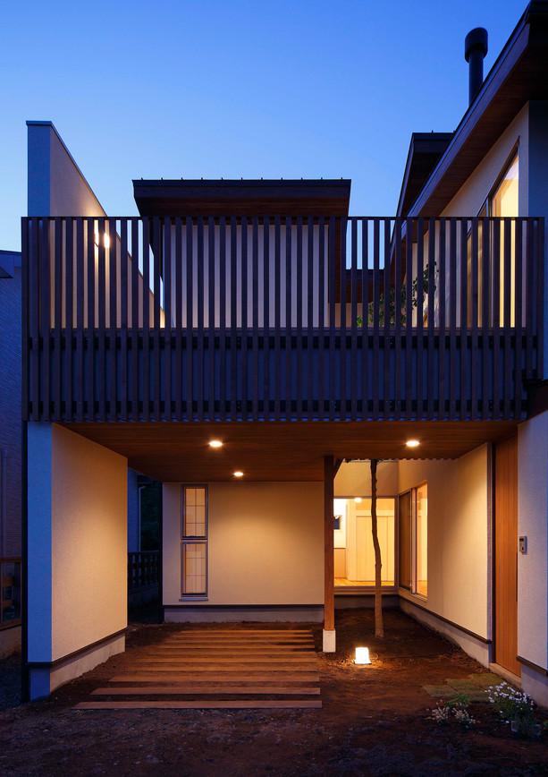 豊郷台の家