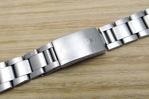Genuine Factory Rolex Stainless Steel Oyster Bracelet 78360 with End Links 580