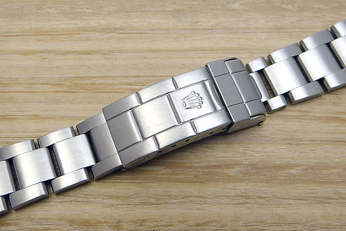 Genuine Rolex Submariner Stainless Steel Oyster Bracelet 93250 Solid End Links