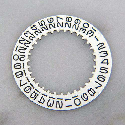 Genuine Rolex 1560 1570 1575 White Date Disc Wheel