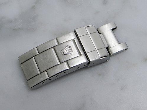 "Rolex Sea-Dweller Bracelet Buckle Clasp 93160 ""LT12"" Circa 2009 & Attached Link"