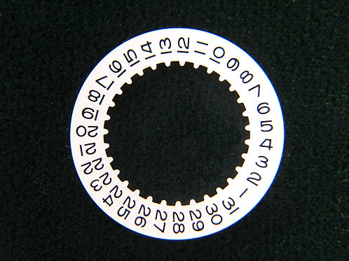 Genuine Rolex 3135 3175 3185 16200 White Date Indicator Wheel Disc