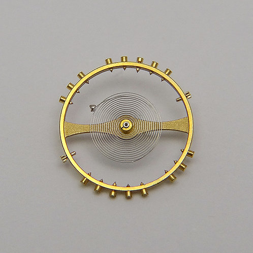 Genuine Rolex 1570 8106 Wheel Spring Balance Complete Caliber Movement