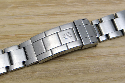 Genuine Rolex Submariner Stainless Steel Oyster Bracelet 93250 with End Links