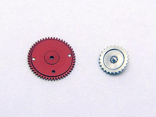 Genuine Rolex 1520 1530 1560 1570 7912 Red Reversing Wheel Set