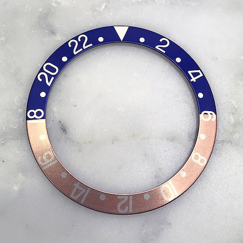 Vintage Genuine Rolex GMT-MASTER 1675 16750 Faded Ghost Pepsi Watch Bezel Insert