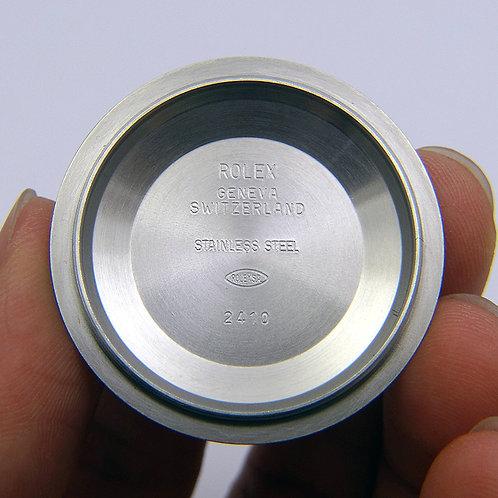 Genuine Rolex 36mm Datejust Stainless Steel Case Back Nr. 2410 Fit Model 116334