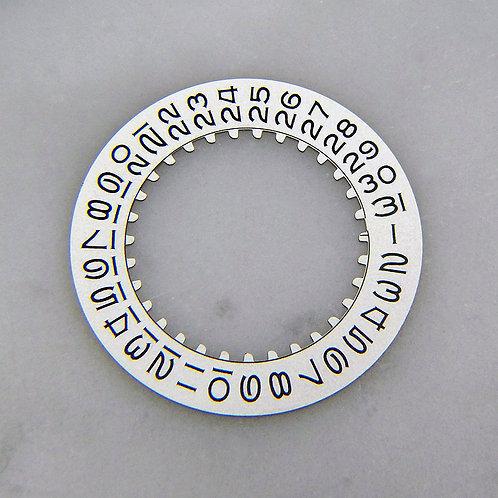 Vintage Genuine Rolex White Date Disc for Movement 3035 Submariner GMT Master