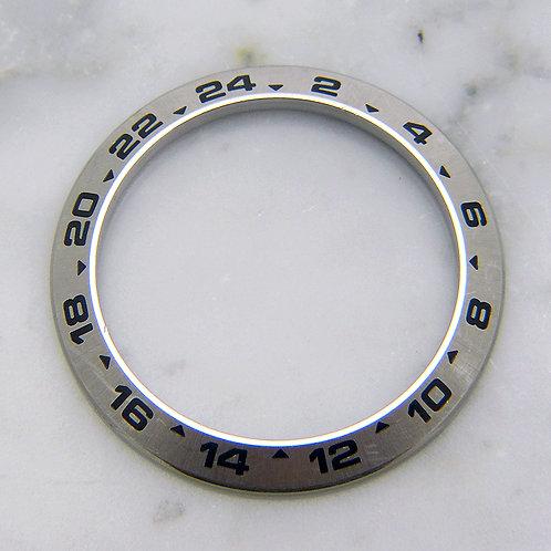 Genuine Rolex Explorer II Stainless Steel Bezel Insert for Model 216570