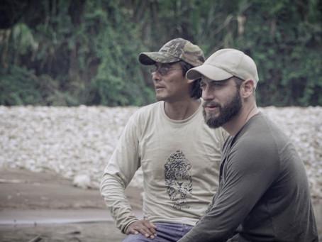 El inquebrantable hombre paciente de la selva. Fernando Rivera