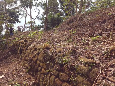 Una pirámide ceremonial en la selva peruana.
