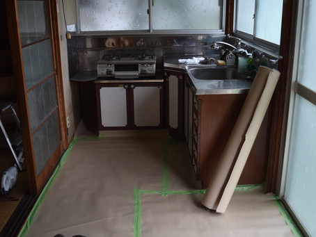 週末DIY「お勝手リノベーション」~構想・工事着手~