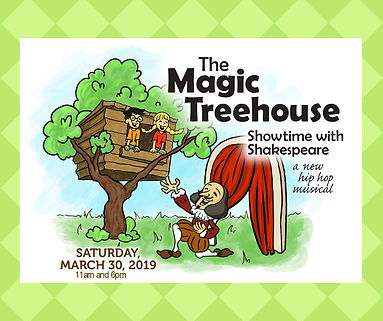 Magic Treehouse Logo No times green back