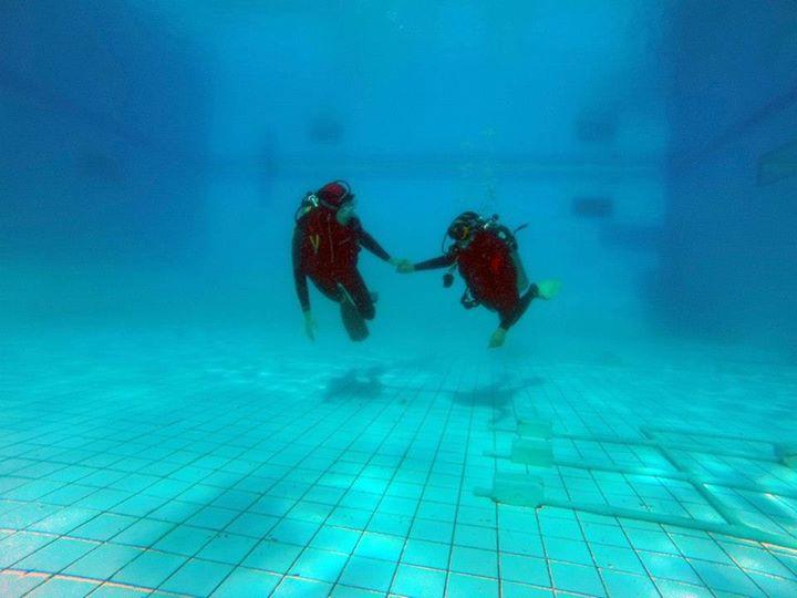 Curso de mergulho em Brasília