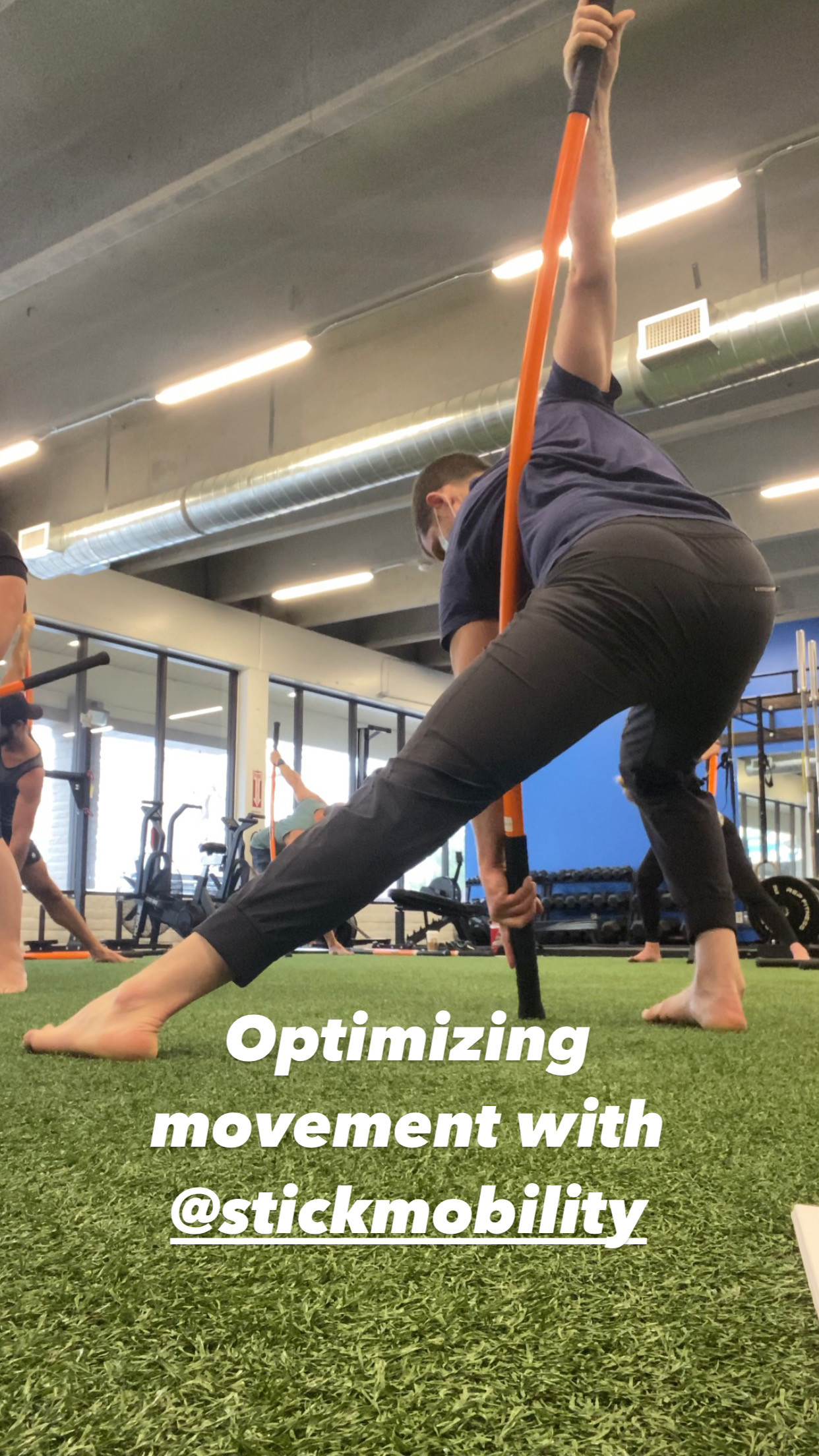 Stick Mobility Movement Training