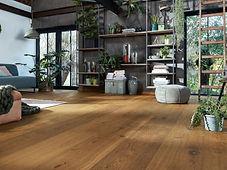 Piso de madera de ingeniería marca meister